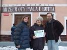 Předání diplomu paní Štěpánové
